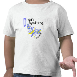 Down Syndrome BUTTERFLY 3.1 Tees
