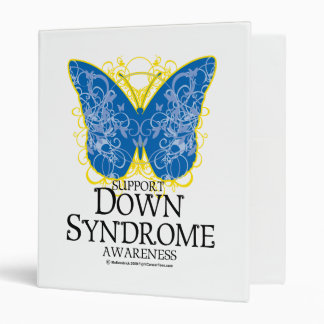 Down Syndrome Butterfly Binder