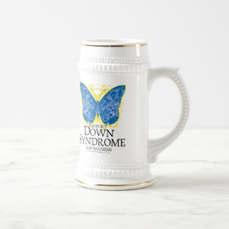 Down Syndrome Butterfly 18 Oz Beer Stein