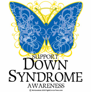Down Syndrome Butterfly Statuette