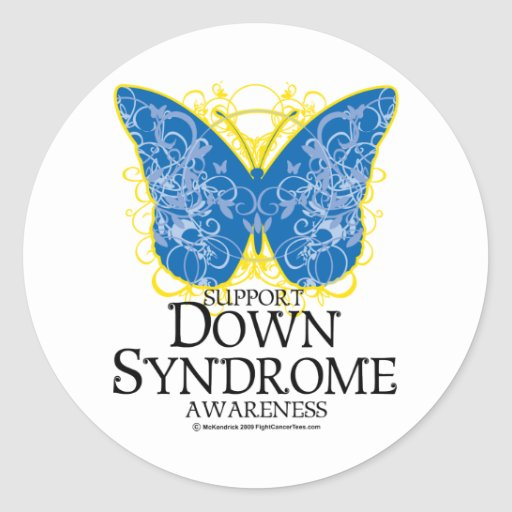 Down Syndrome Symbol Butterfly Down syndrome butterfly
