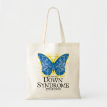Down Syndrome Butterfly Tote Bag