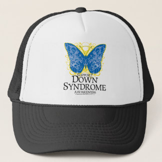 Down Syndrome Butterfly Trucker Hat