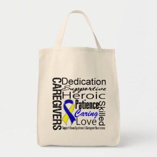 Down Syndrome Caregivers Collage Tote Bag
