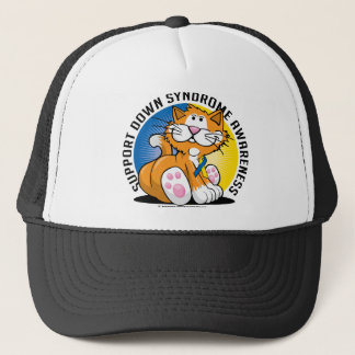 Down Syndrome Cat Trucker Hat