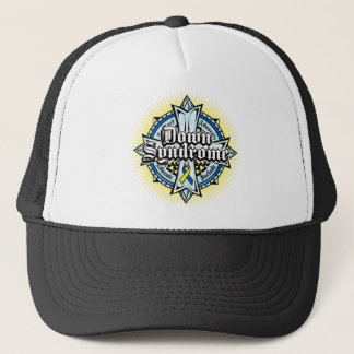 Down Syndrome Celtic Cross Trucker Hat