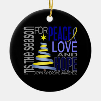 Down Syndrome Christmas 1 Ornaments