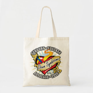 Down Syndrome Classic Heart Tote Bag