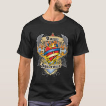 Down Syndrome Cross & Heart T-Shirt