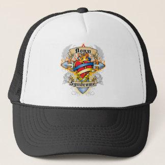 Down Syndrome Cross & Heart Trucker Hat