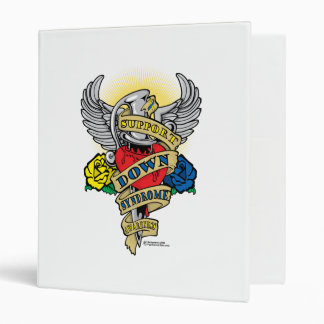 Down Syndrome Dagger 3 Ring Binder