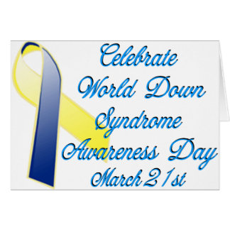 Down Syndrome Day Card