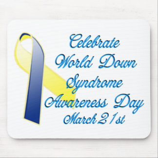 Down Syndrome Day Mouse Pad