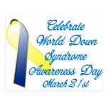 Down Syndrome Day Post Card