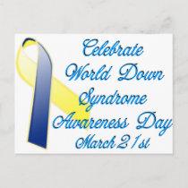 Down Syndrome Day Postcard