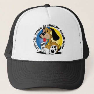 Down Syndrome Dog Trucker Hat