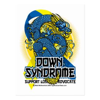 Down Syndrome Dragon Postcard