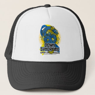 Down Syndrome Dragon Trucker Hat