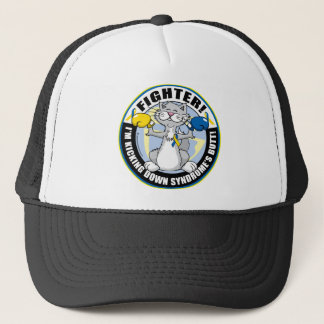 Down Syndrome Fighter Cat Trucker Hat