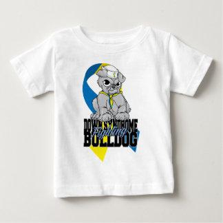Down Syndrome Fighting Bulldog Baby T-Shirt