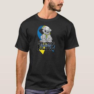 Down Syndrome Fighting Bulldog T-Shirt
