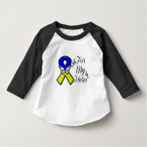 Down Syndrome For My Hero Infant T-shirt