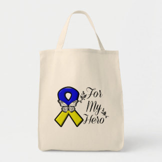 Down Syndrome For My Hero Tote Bag