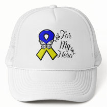 Down Syndrome For My Hero Trucker Hat