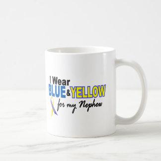 Down Syndrome I Wear Blue & Yellow For My Nephew 2 Coffee Mug
