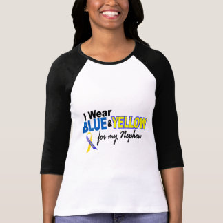 Down Syndrome I Wear Blue & Yellow For My Nephew 2 T-Shirt