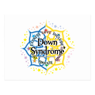 Down Syndrome Lotus Postcard