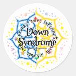 Down Syndrome Lotus Sticker