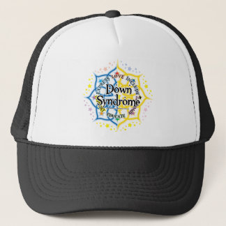 Down Syndrome Lotus Trucker Hat