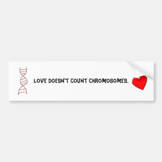 Down Syndrome Love Bumper Sticker