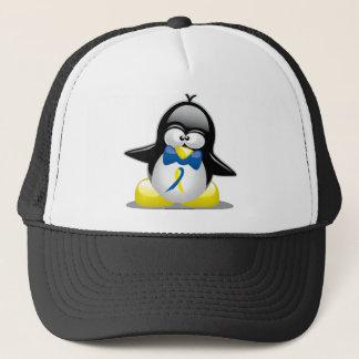Down Syndrome Penguin Trucker Hat