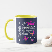 Down Syndrome Princess Cute Personalized Mug