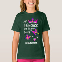Down Syndrome Princess Cute Personalized T-Shirt
