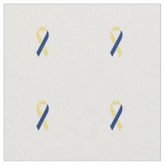 Down Syndrome ribbon fabric
