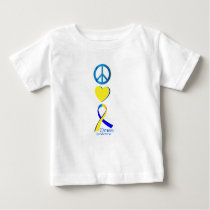 Down Syndrome Suppor Gifts Baby T-Shirt