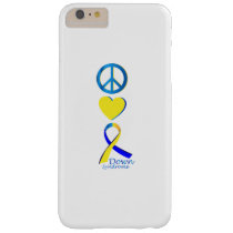 Down Syndrome Suppor Gifts Barely There iPhone 6 Plus Case