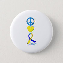 Down Syndrome Suppor Gifts Button