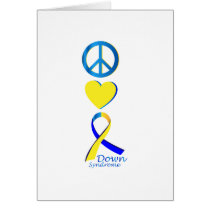 Down Syndrome Suppor Gifts Card