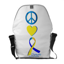 Down Syndrome Suppor Gifts Courier Bag