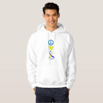 Down Syndrome Suppor Gifts Hoodie