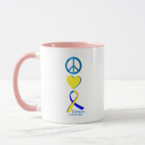 Down Syndrome Suppor Gifts Mug