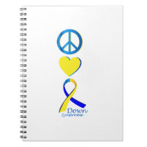 Down Syndrome Suppor Gifts Notebook