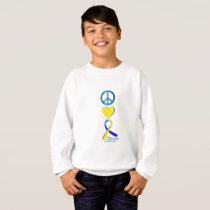 Down Syndrome Suppor Gifts Sweatshirt