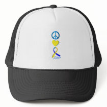 Down Syndrome Suppor Gifts Trucker Hat