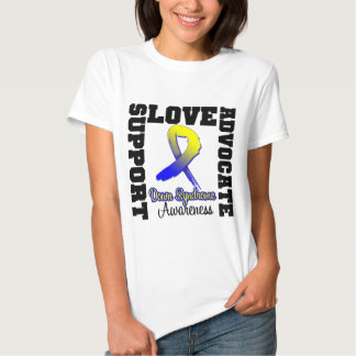 Down Syndrome Support Advocate Love Shirt