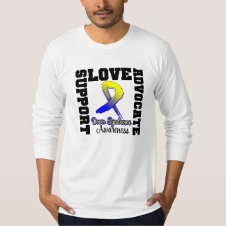 Down Syndrome Support Advocate Love T-shirt